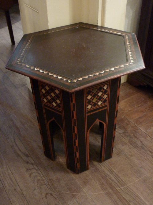 North African Hexagonal Table