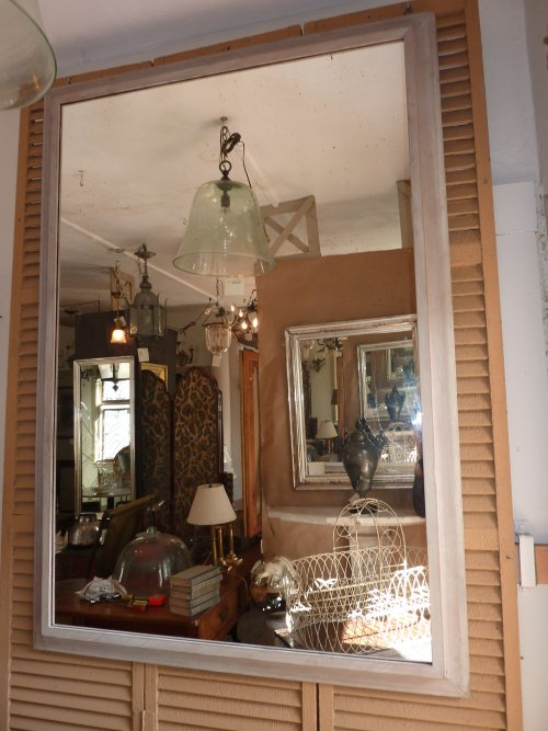 Large Weathered Mirror