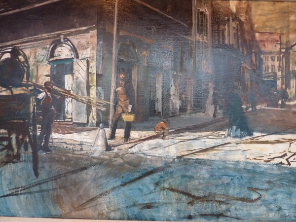 Morton Roberts Painting of New Orleans