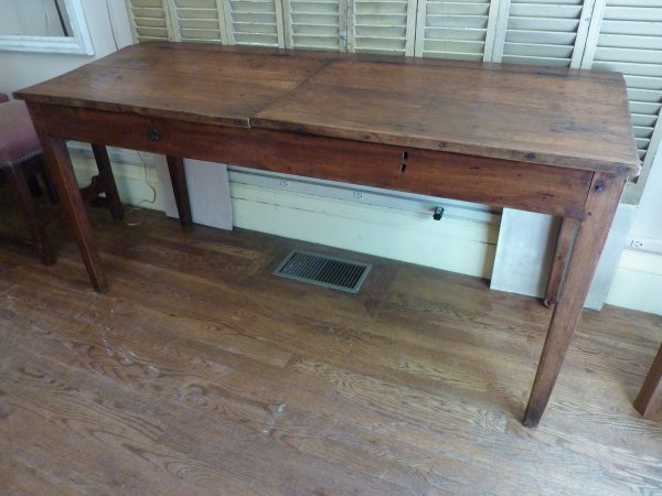 Antique French Schooldesk