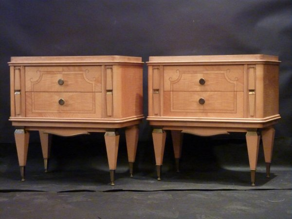 Pair of Andre Arbus Style Night tables