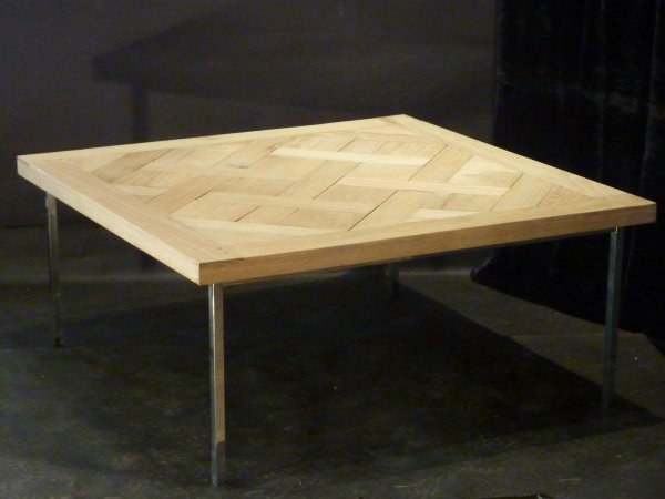 Modern Parquet Coffee Table