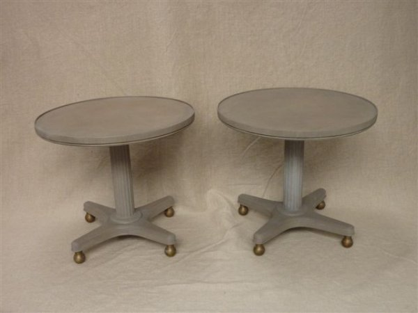 Pair of Modern Low Tables