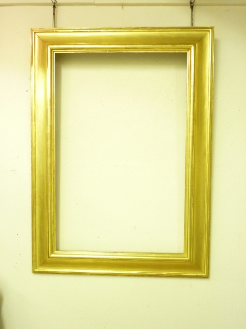 Modern Goldleaf Mirror