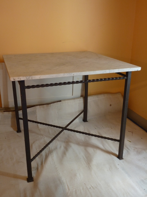 Modern Iron End Table