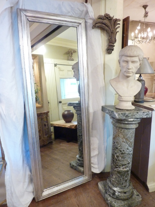 Floor Length Silverleaf Mirror