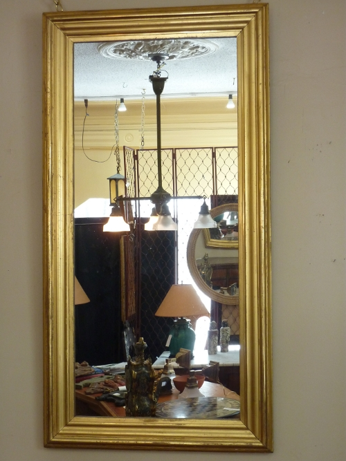 Giltwood Simple Profile Mirror
