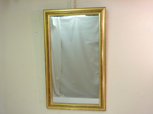 19th Century Bolection Giltwood Mirror