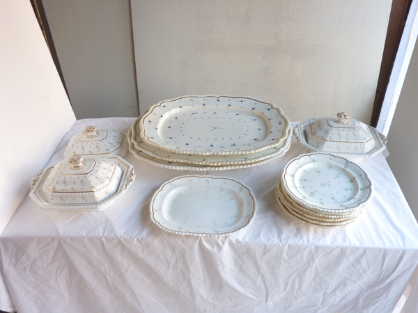 Set English Ceramic Dinnerware