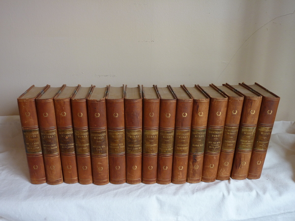 Collection of Hawthorne Works 15 volumes