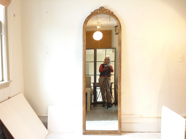 Full Length Giltwood Mirror