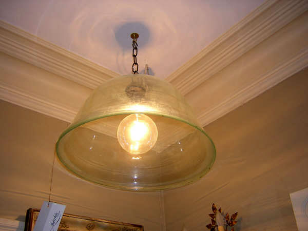 French Blown Glass Cloche
