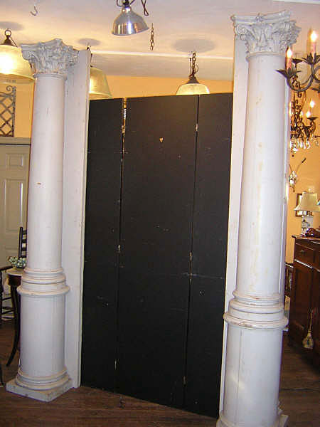 19th Century Pair Architectural Columns