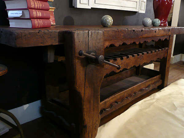 19th Century French Workbench