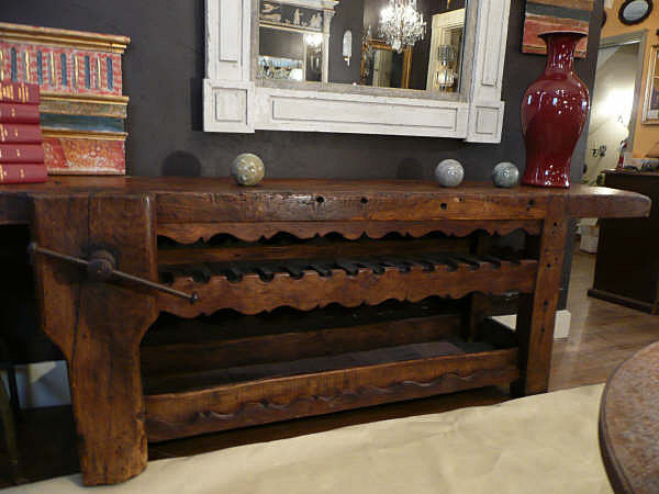 Ordinaire 19th Century French Workbench