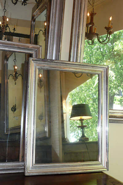 Antique Silverleaf Mirrors