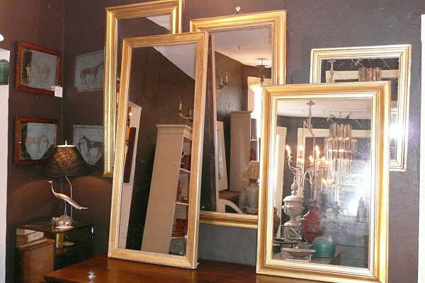 Antique Giltwood Mirrors