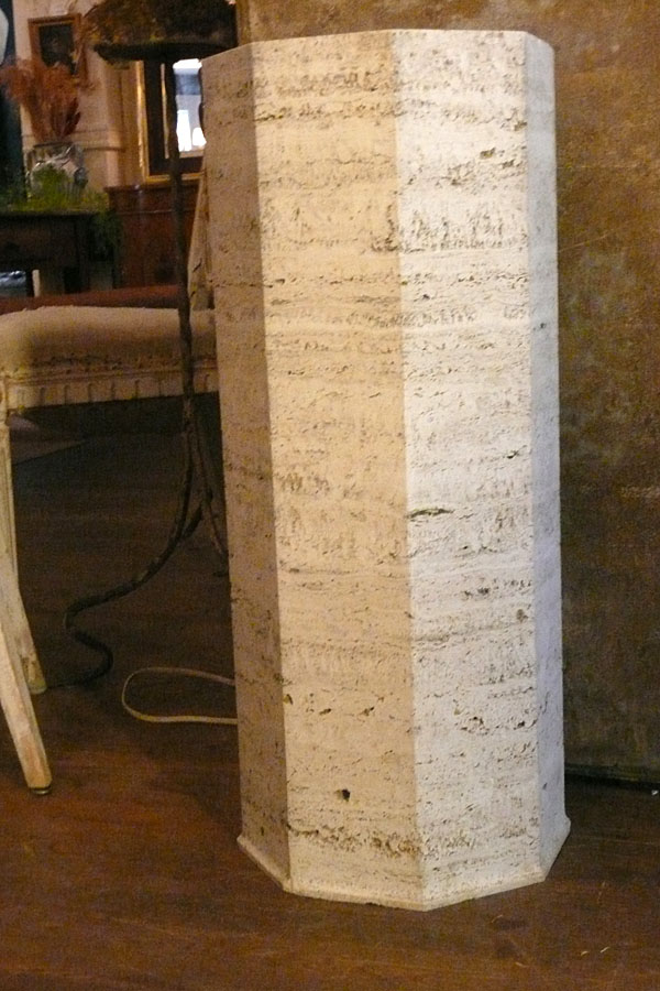 Travertine Pedestals