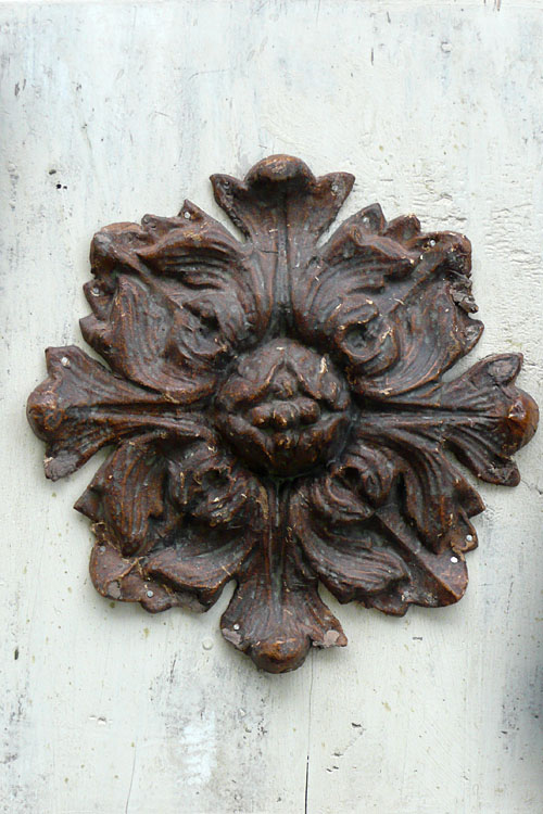 Decorative Rosette Plaque